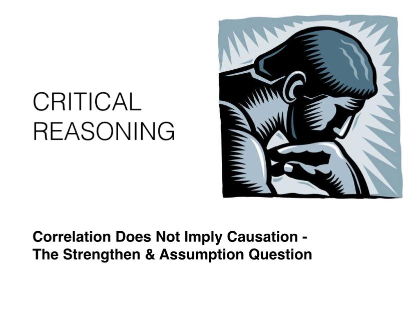Critical Reasoning - 3.001