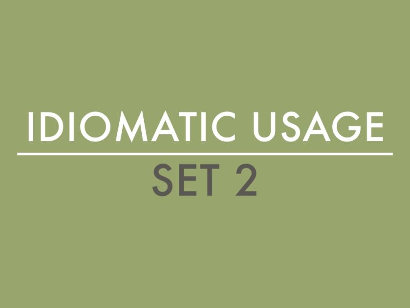Idiomatic Usage.001
